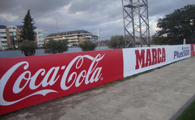 Protectores deportivos coca-cola
